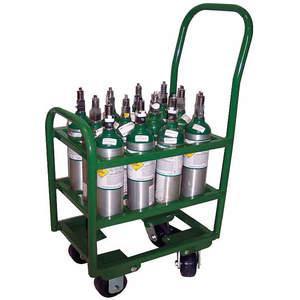 SAFTCART MM6-12 Cylinder Trolley 2400 Lb. 17-1/2 Inch Width | AE7CGX 5WXH5