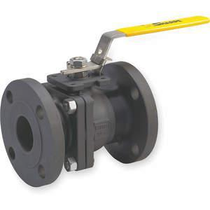 SHARPE VALVES SV50114M020 Carbon Steel Ball Valve Inline Flanged 2 In | AB2XZU 1PRB8