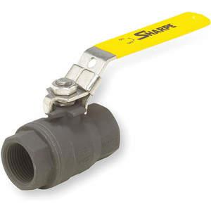 SHARPE VALVES SV50C74004 Carbon Steel Ball Valve Inline Fnpt 1/2 In | AD2CBD 3MRC9