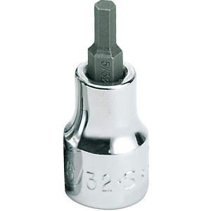 SK PROFESSIONAL TOOLS 41207 Socket 3/8 Inch Drive 5/32 Inch 6 Point Standard   AA3ZHZ 12A253