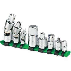 SK PROFESSIONAL TOOLS 4518 Socket Adapter Set 8 Pc   AA4BJC 12D247