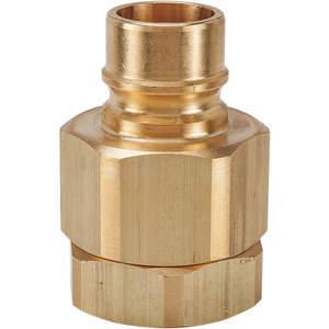 SNAP-TITE BVHN24-24F Coupler Nipple 1-1/2-11-1/2 Body Brass | AF6WBE 20LF42