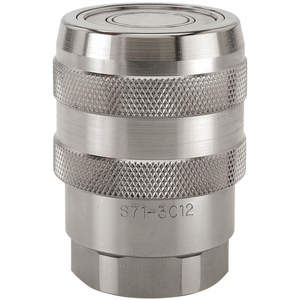SNAP-TITE S71-3C6-6EF Coupler Body 3/4-16 3/8 Inch Body 316 Stainless Steel | AF6WJF 20LH23