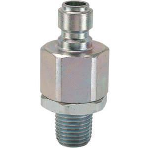 SNAP-TITE VEAN8-8M Coupler Nipple 1/2-14 1/2 Inch Body Steel | AF6WLJ 20LH72