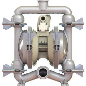 STANDARD PUMP SPFP15NPT Pump 1-1/2 Inch 65 Gpm Ptfe Diaphragm   AC8EXA 39N540