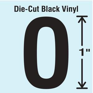 STRANCO INC DBV-1-O-10 Die Cut Letter Label O 10 Cards PK10   AH3AGT 30WZ76