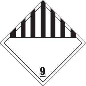 STRANCO INC DOTP-0054-V10 Vehicle Placard Blank - Pack Of 10 | AF3YRA 8FM43