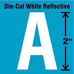 STRANCO INC DWR-2-A-5 Letter Label A White - Pack Of 5 | AD4JCU 41P978