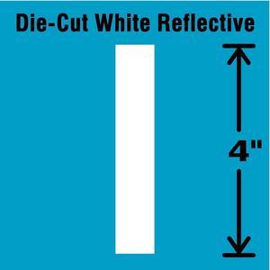STRANCO INC DWR-4-I-5 Letter Label I White - Pack Of 5 | AD4JGF 41R059
