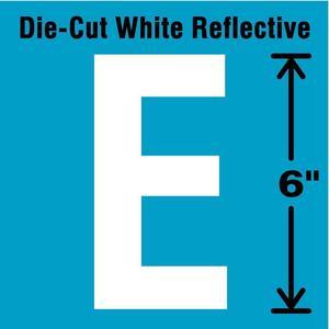 STRANCO INC DWR-6-E-EA Letter Label E White   AD4JHQ 41R091