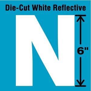 STRANCO INC DWR-6-N-EA Letter Label N White   AD4JJA 41R101