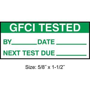 STRANCO INC TC-10904 Inspection Label ENG Maintenance PK350 | AH3AVV 30XD57