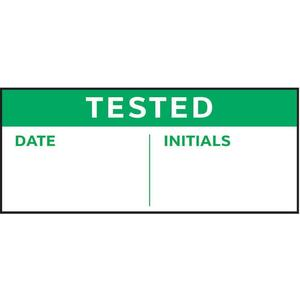 STRANCO INC TC-21015 Quality Inspection Label 5/8 Inch H - Pack Of 350   AF3QKH 8AXH3