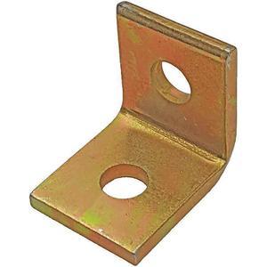 SUPER-STRUT AB202 Angle Bracket 90 Degree 2 Holes Gold | AB9ZVU 2HAE9