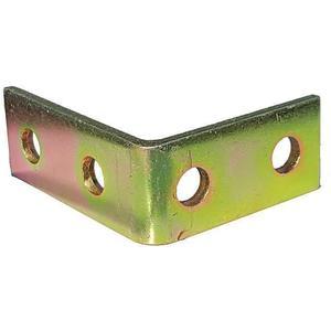 SUPER-STRUT AB205 Angle Bracket 90 Degree 4 Holes Gold | AB9ZVW 2HAF2