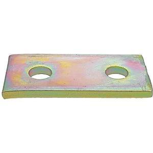 SUPER-STRUT AB206 Connecting Plate 2 Holes Gold | AB9ZWG 2HAJ4