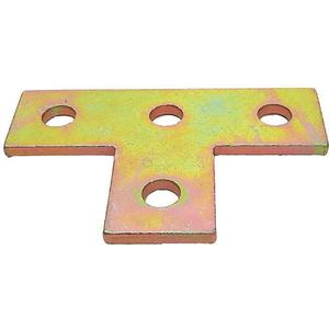 SUPER-STRUT AB220 Connecting Plate Tee 4 Holes Gold | AB9ZWA 2HAF6