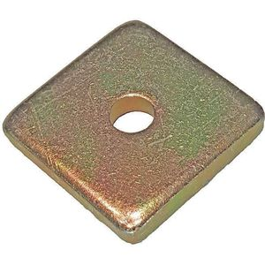 SUPER-STRUT AB241 1/2 Washer Square 1/2 Inch Gold - Pack Of 25 | AB9ZWX 2HAL2
