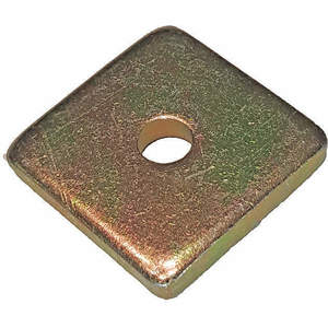 SUPER-STRUT AB241 1/4 Washer Square 1/4 Inch Gold - Pack Of 25   AB9ZWQ 2HAK5