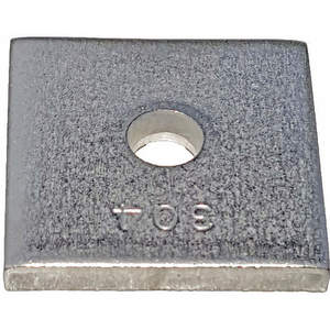 SUPER-STRUT AB241 1/4SS Channel Washer Square 1/4 Inch Stainless Steel - Pack Of 25 | AB9ZXM 2HAN7