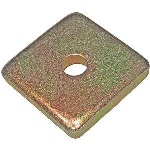 SUPER-STRUT AB241 3/8 Washer Square 3/8 Inch Gold - Pack Of 25   AB9ZWU 2HAK8