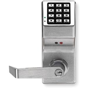 TRILOGY DL2800/26DGR Battery Operated Push Button Lock | AC8HNE 3AEA9