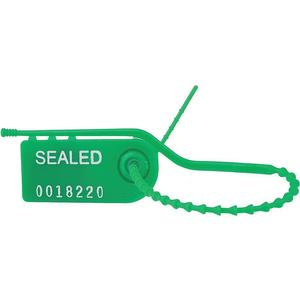 TYDENBROOKS 1061056 Pull Tight Seal 8 Inch Hdpe Green - Pack Of 100 | AC8FGU 39R480