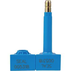 TYDENBROOKS 1061066 Bolt Seal 3-3/8 x 29/64in Abs Blue - Pack Of 200 | AC8FHC 39R488