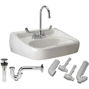 ZURN Z5344.525.3.07.00.6 Bathroom Sink Kit 18-1/4 Inch Width 10 Inch Height | AA2GRZ 10J134