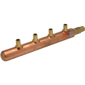 ZURN QCM43-4GX Pex Manifold Copper Pex 11-1/2 Inch Length   AA2ARX 10A639