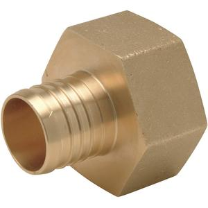 ZURN QQUFC77GX Pex And Pipe Adapter Low Lead Brass   AA2ANB 10A533