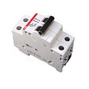 ABB S202-C20 Bolt On Circuit Breaker, 1 Phase, S202 Frame, 2 Pole | CE6KRM