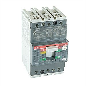 ABB T5S400TW Bolt On Circuit Breaker, 3 Phase, T5 Frame, 600 Volts, 400 Amp., 3 Pole, AC Voltage | CE6KTH