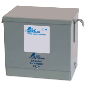 ACME ELECTRIC T2A533601S Low Voltage Transformer, 3 Phase, 240D V - 208Y/120V, 9kVA | BC7PJH