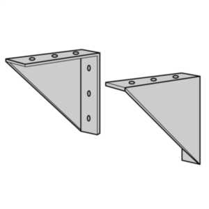 ACME ELECTRIC PL79911 Encapsulated Unit, Wall Mounting Kit   BC7WHE