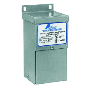 ACME ELECTRIC T153105 Low Voltage Transformer, 1 Phase, 600V - 120V/240V, 0.1kVA | BC9NDQ
