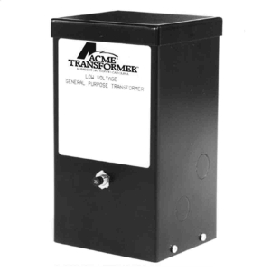 ACME ELECTRIC T179619S Low Voltage Lighting Transformer, 1 Phase, 240V - 24V Volts Rating, 1kVA | BC9WDQ