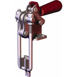 DESTACO 334-R Pull Action Latch Clamp, With Toggle Lock, 1000 Lb Holding Cap.   AJ8BHN