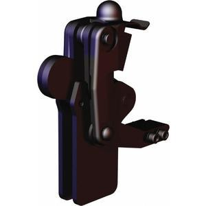 DESTACO 505-MLBLSC Hold-Down Toggle Clamp, Long Base With Locking Spring Clip, 2400 Lb Holding Cap. | AJ8BBT