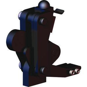 DESTACO 506-MBLSC Hold-Down Toggle Clamp, Swivel Base With Locking Spring Clip, 5000 Lb | AJ8AYL