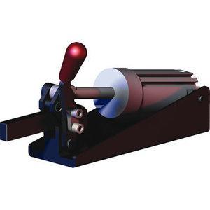 DESTACO 8007-EHL Pneumatic Toggle Clamp, Manual Handle, Left Side, 830 Lb Holding Cap. | AJ8AZN