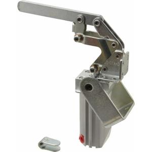 DESTACO 817-S Pneumatic Toggle Clamp, 7.51 Inch Open Height, Vertical, 450 Lb Holding Cap.   AJ8BLN