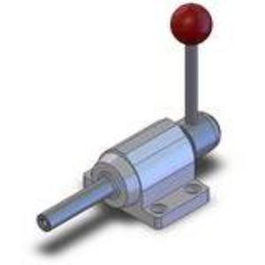 DESTACO FO-221-80 Variable Stroke Straight Line Action Clamp, 4000 Lb Holding Cap. | AJ8AZX