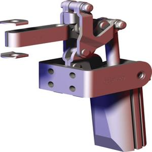 DESTACO 817-SE Toggle Clamp, Dual Mounting Surfaces, 450 Lb Holding Cap. | AJ8BFB