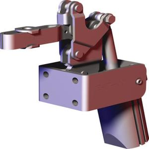 DESTACO 827-UE Pneumatic Toggle Clamp, 88 Degree, Solid, 600 Lb Holding Cap. | AJ8BGJ