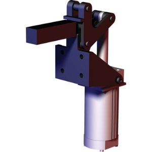 DESTACO 868-LC Replacement Clamp, 18.59 Inch Open Height, Vertical Mounting | AJ8BGC