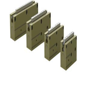DESTACO RPL-2 Parallel Gripper Low Profile, 5-100 Psi | AH2HCH 28WM15