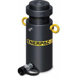 ENERPAC HCL-506 50 tons Single Acting Lock Nut Steel Hydraulic Cylinder, 6 Inch Stroke Length | CD2NFY 444N43