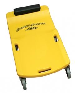 LISLE LS/93032 Wheel Creeper, Large, Plastic, Yellow | CD8HLV