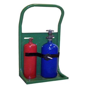 SAFTCART 20-10-TOTE Welding Torch Stand, Oxy-Acetylene, Cylinder Capacity 3.5 - 7 Inch | CE2HBN